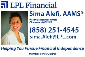Sima Alefi, Financial Advisor
